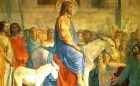 banner_Christ-entering-Jerusalem-on-an-ass-by_Hippolyte_Flandrin__early_19th_C