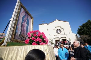 THOUSANDS HONOR OUR LADY OF GUADALUPE WITH DANCE, MUSIC AND PRAYER AT THE 86TH ANNUAL PROCESSION AND MASS IN EAST L.A.