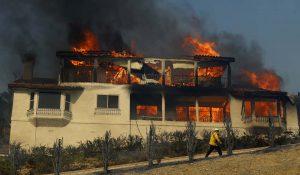 Prelates ask prayers for families, firefighters facing devastating blaze