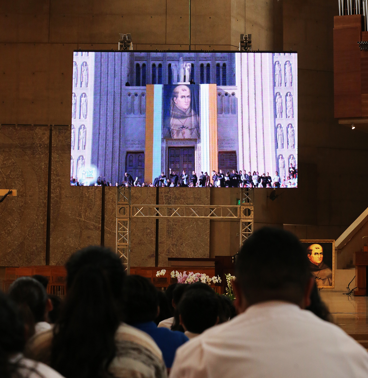 CANONIZATION JUNIPERO SERRA CATHEDRAL 2