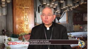 VIDEO: Mons. Gomez señala la importancia de vivir la fe recibiendo con generosidad a los migrantes