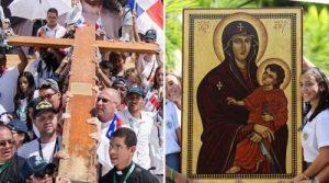 Cruz y Virgen de la JMJ peregrinarán a la Arquidiócesis de Los Ángeles