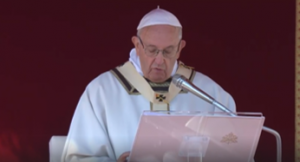 POPE FRANCIS EXPRESSES CONDOLENCES FOR THOSE AFFECTED BY THOUSAND OAKS SHOOTING