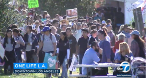 OneLife LA holds 5th annual march to celebrate life in downtown Los Angeles