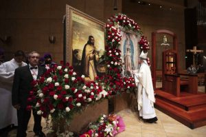 Thousands honor Our Lady of Guadalupe at annual tribute and Mass in Los Angeles
