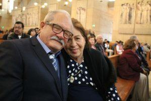 En el Día Mundial del Matrimonio, decenas de parejas renuevan sus votos matrimoniales